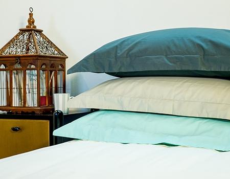 Roupa de cama e acessórios